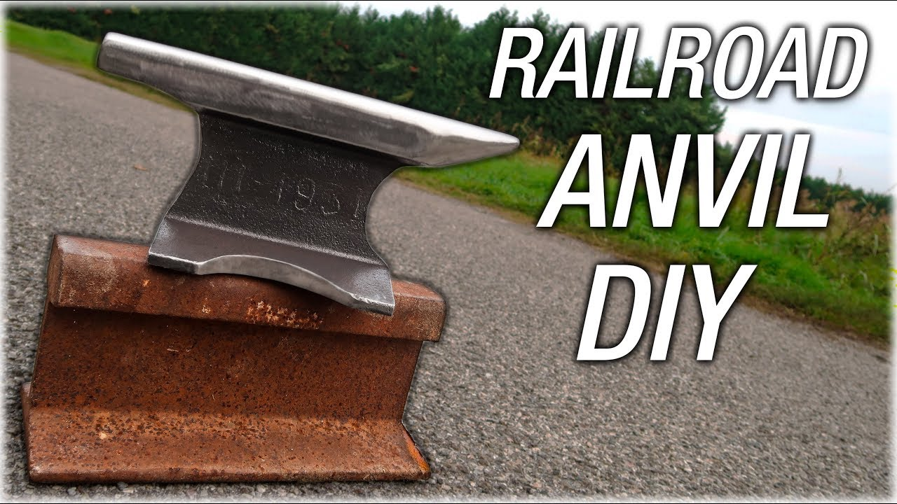 DIY Railroad Track Anvil