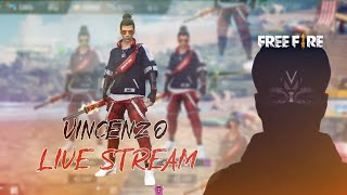 🛑 LIVESTREAM VINCENZO FREE FIRE 🛑 🔥🔥