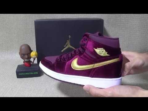 3e401c6703dd Air Jordan 1 Velvet Heiress HD Unboxing Review by jordanmaster ru ...