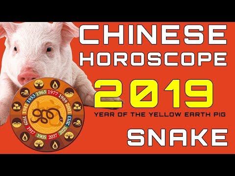 Chinese Horoscope 2019 Snake