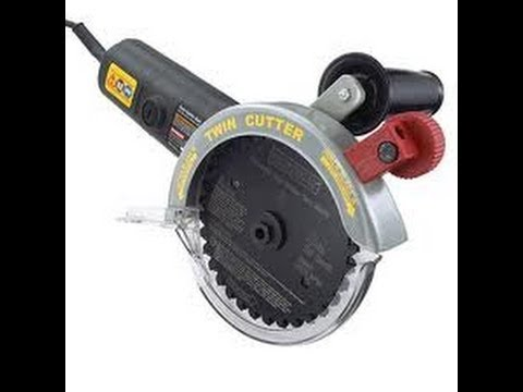 Craftsman twin cutter saw 5 counter rotating power saw youtube greentooth Image collections