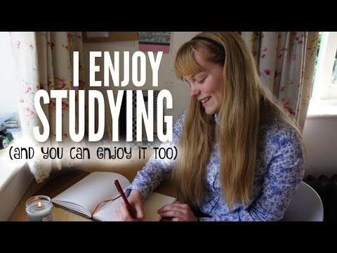 How to actually ENJOY the Process of Studying? (over Christmas)