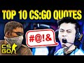 Top 10 Quotes That Changed CS:GO Forever
