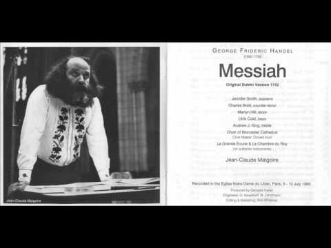 Messiah-For Unto Us A Child Is Born - Jean-Claude Malgoire