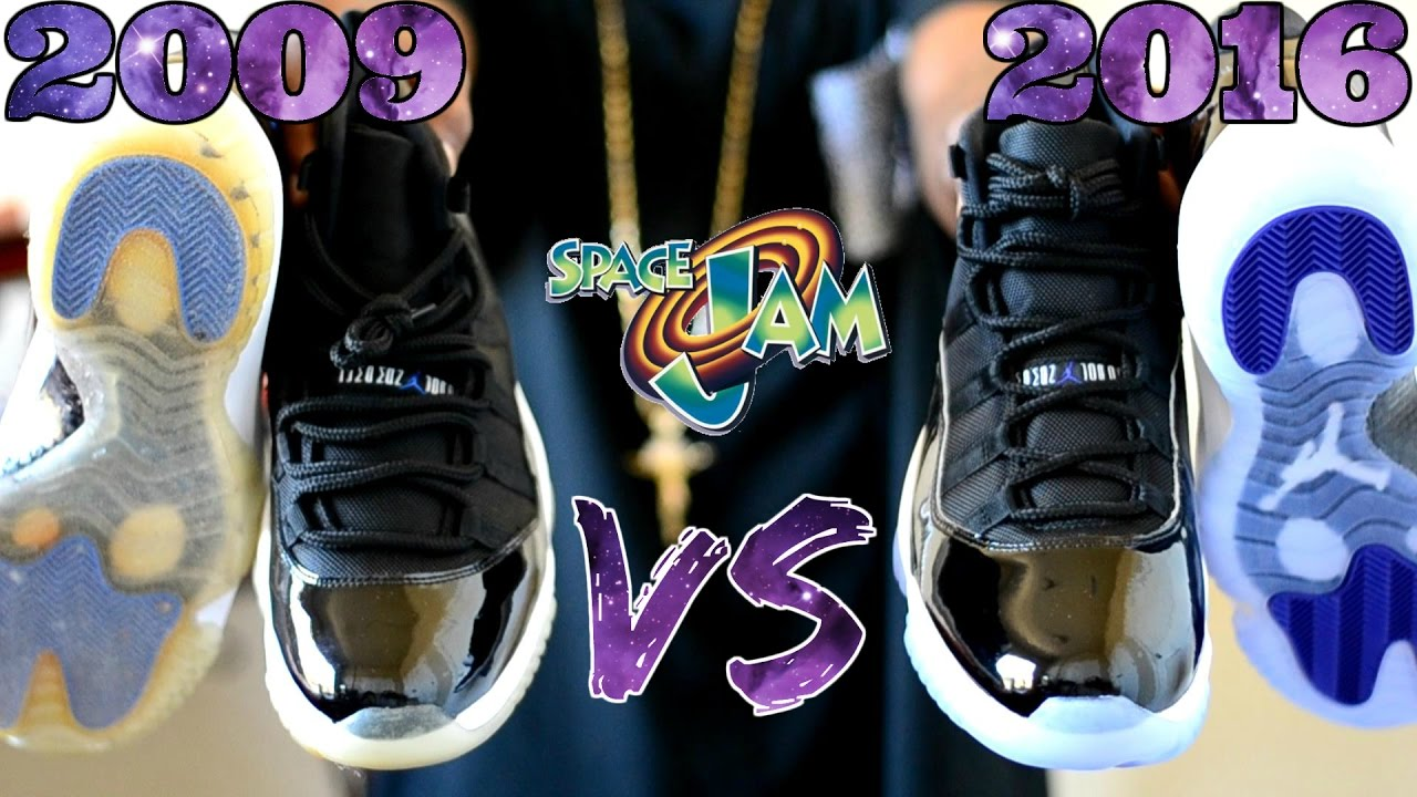 d93a1c1cd5e7db 2009 vs. 2016 Jordan 11