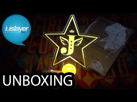 Unboxing: Jessica Golden Star Official Lightstick
