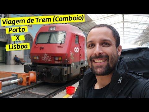 Viagem de trem - comboio de Porto até Lisboa [Dicas de Viagem Portugal]