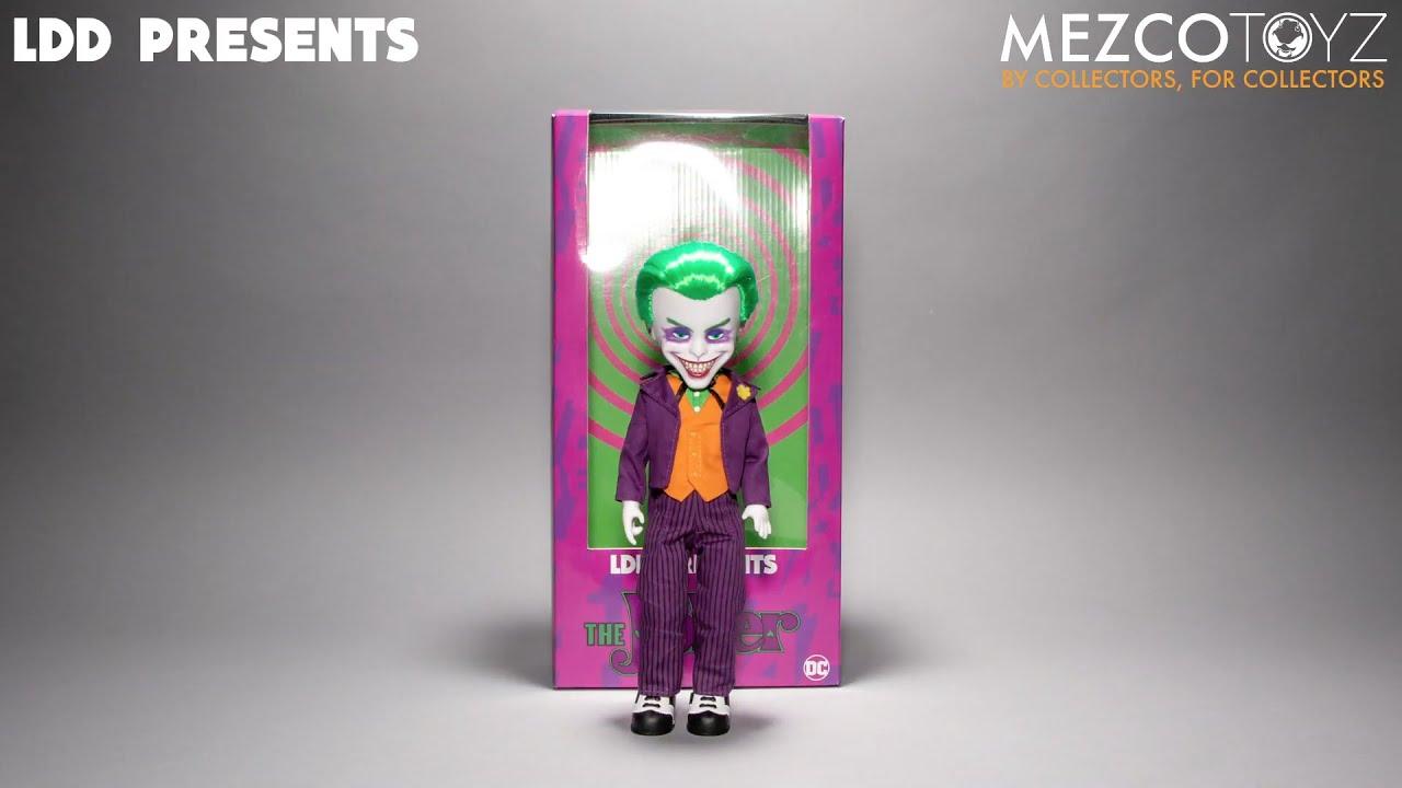 Mezco Toyz New DC 2020 The Joker Living Dead Doll