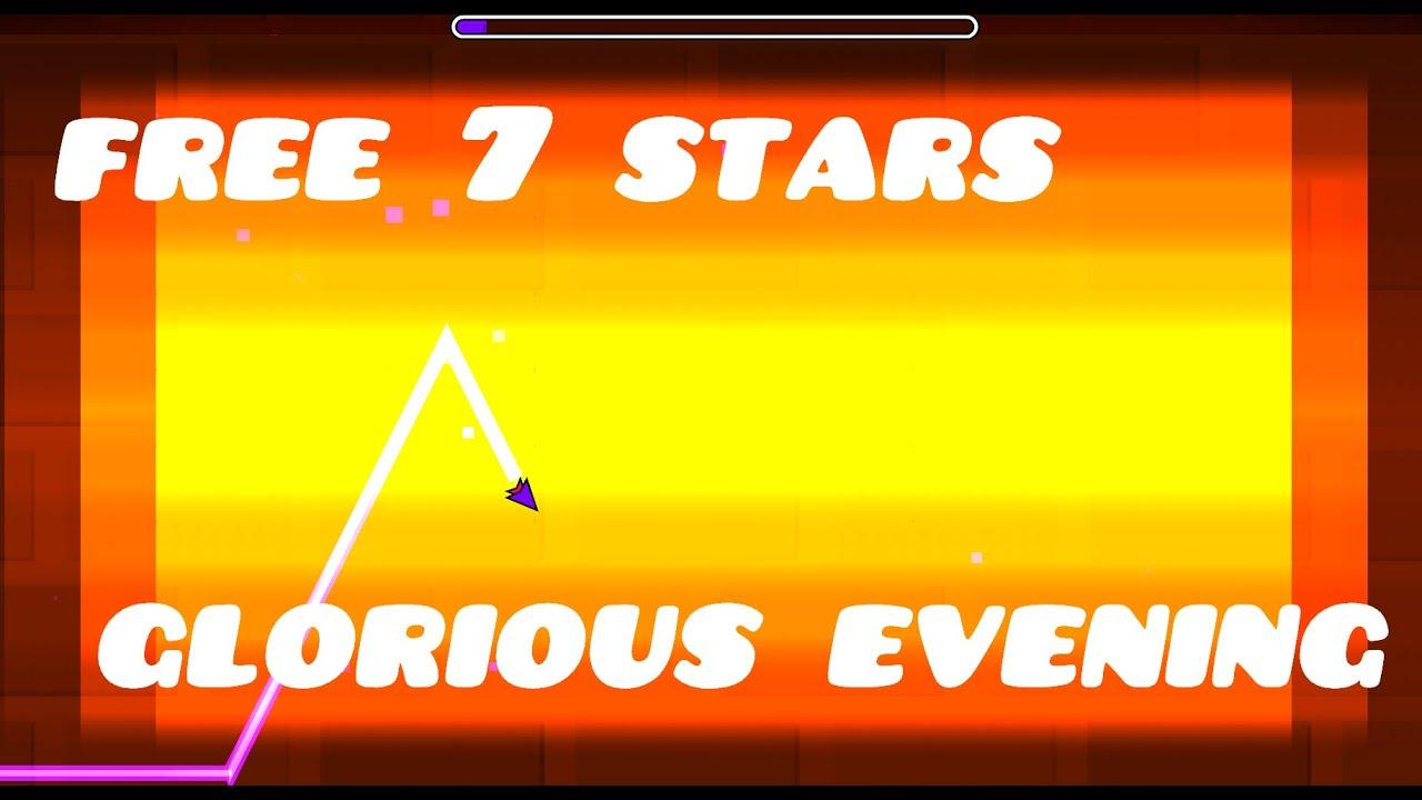 Geometry Dash Free 7 Stars #52 - YouTube