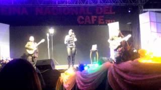 Presentación de La Toquilla en la elección de la Reina Nacional del Café Zaruma 2013