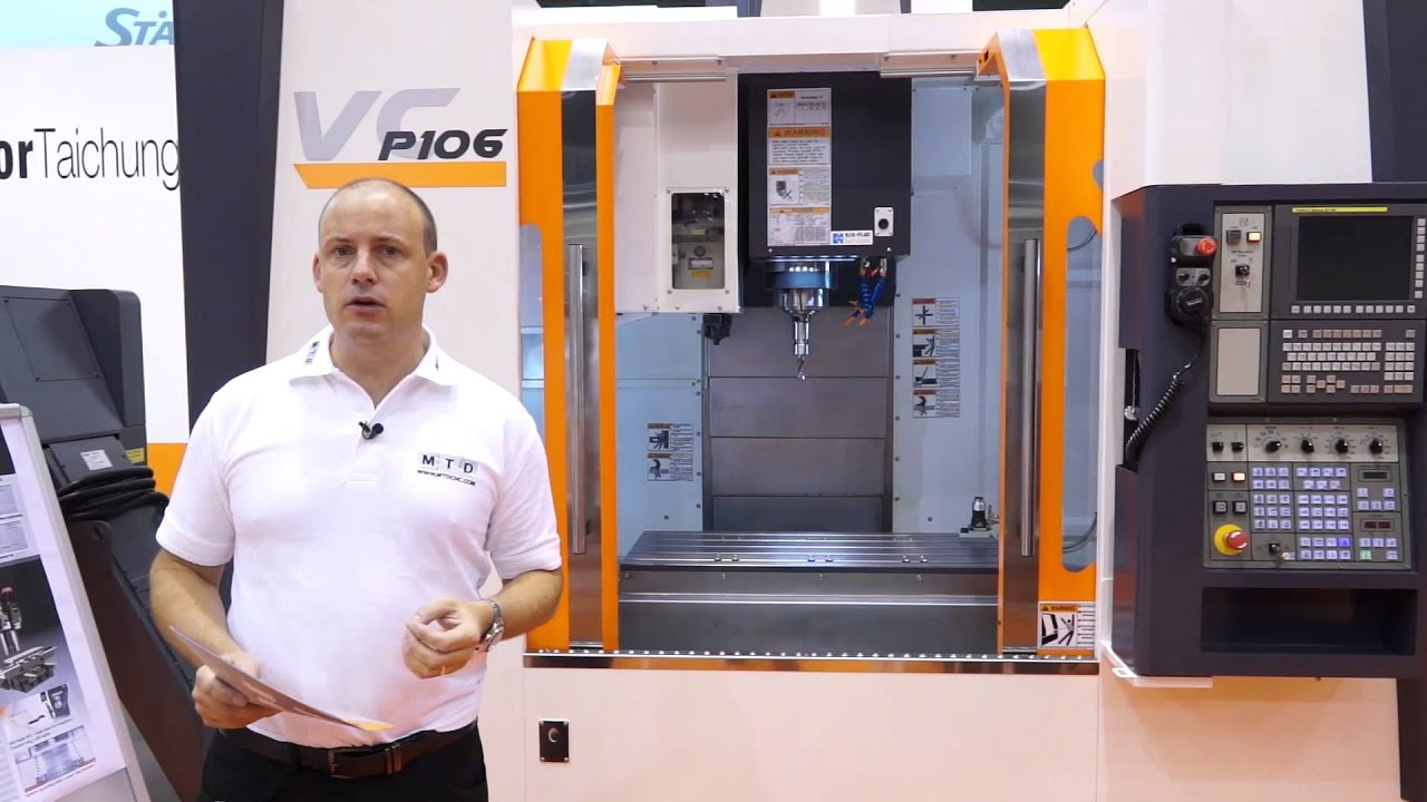 New P106 Vertical Machining Centre from Victor CNC