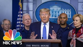 'We're Doing Great': Trump Celebrates Fed Rate Cuts As COVID-19 Cases Grow | NBC News