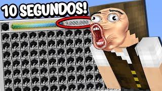 Minecraft Perfeito #12: EU CONSIGO O BLOCO QUE VALE 9 MILHÕES EM 10 SEGUNDOS!