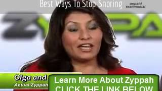 Best Ways To Stop Snoring