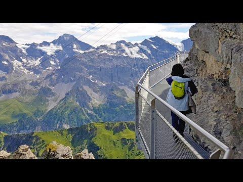 Thrill Walk in Switzerland | A trip from Lauterbrunnen to Schilthorn