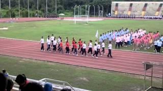 2013诗巫公教中学班级运动会操步---J2Z