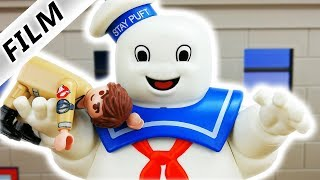 Playmobil Ghostbusters Film deutsch - DIE GESCHICHTE DES MARSHMELLOW MONSTERS - Playmobil Marvin