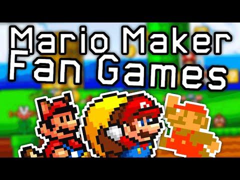TOP 7 AMAZING Mario Maker Fan Games!