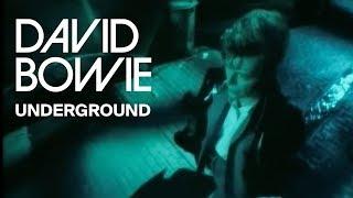 Смотреть клип David Bowie - Underground