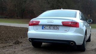2014 Audi A6 3.0 TDI (245 HP) Test Drive