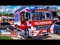NOTRUF 112 #6: LKW-Unfall auf der AUTOBAHN - katastrophale Rettungsgasse Feuerwehr Simulation 2