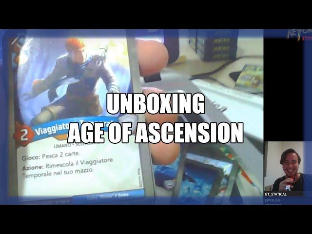 Prima sbustata a sorpresa in live streaming | Unboxing AoA #4 | Keyforge
