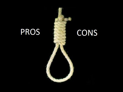 pros and cons of the death penalty  pros and cons of the death penalty