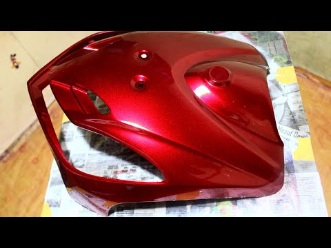 How To Spray Paint Red Candy Tone