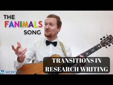 Using Transitions to Add Information (The FANIMALS Song!)