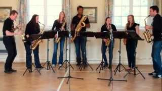 Ar Lan Y Mor (On The Sea Shore) – saxophone ensemble (septet)