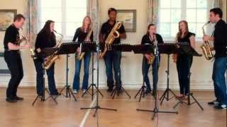 Ar Lan Y Mor (On The Sea Shore) – saxophone ensemble (septet)