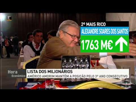 O homem mais rico de Portugal é