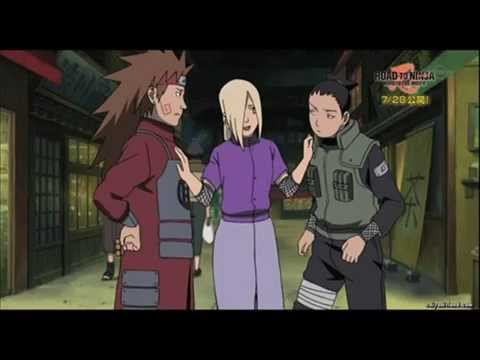 Naruto Road to ninja {secret scenes and spoilers} - YouTube