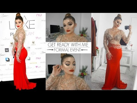 GRWM: Formal Event | Makeup + Outfit
