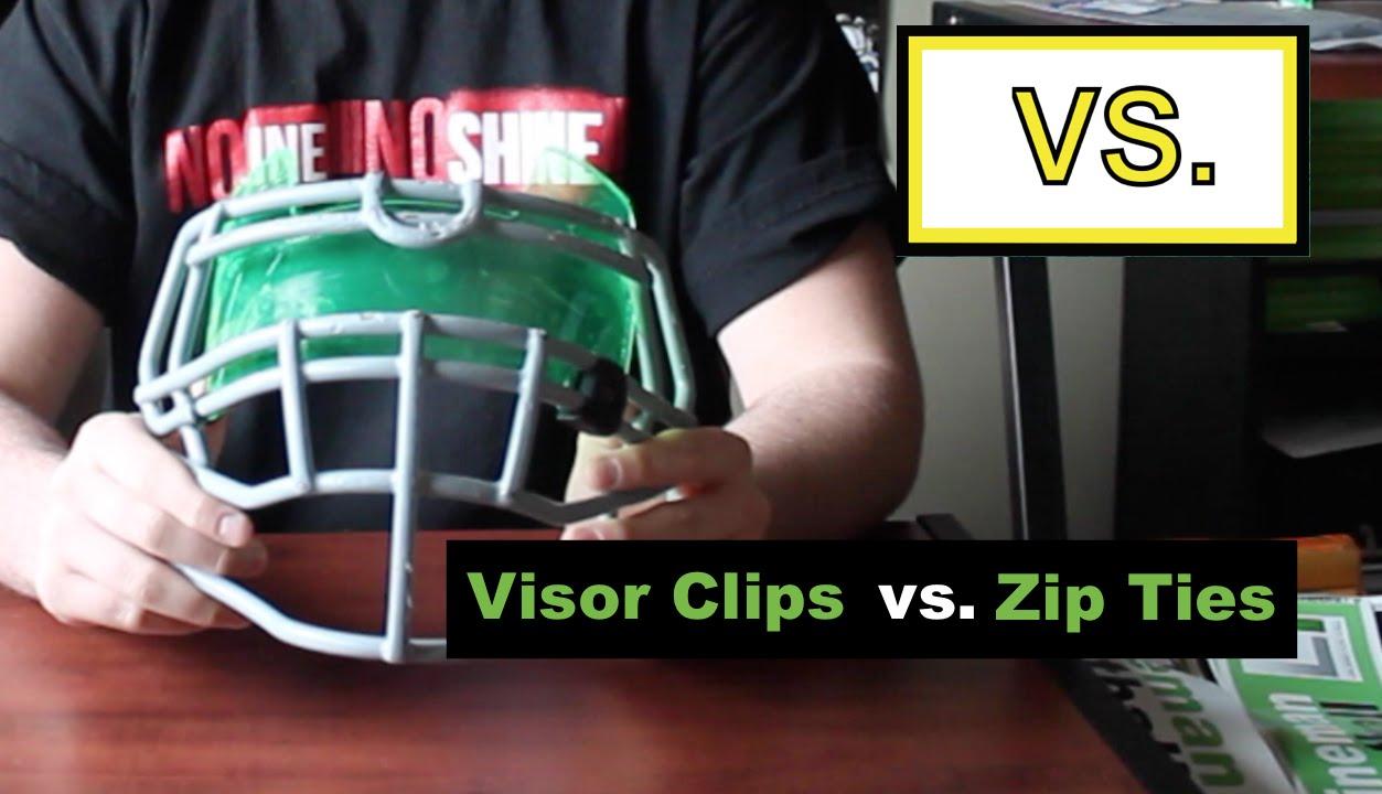 49e9e049 Vs. | Zip Ties vs. Visor Clips - YouTube