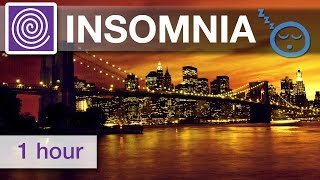 Repeat youtube video 1 Hour of Relaxing Sleep Music ☾☯☽ Insomnia Help, Best Natural Insomnia Cure