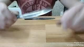 два ножа откованых с ресоры