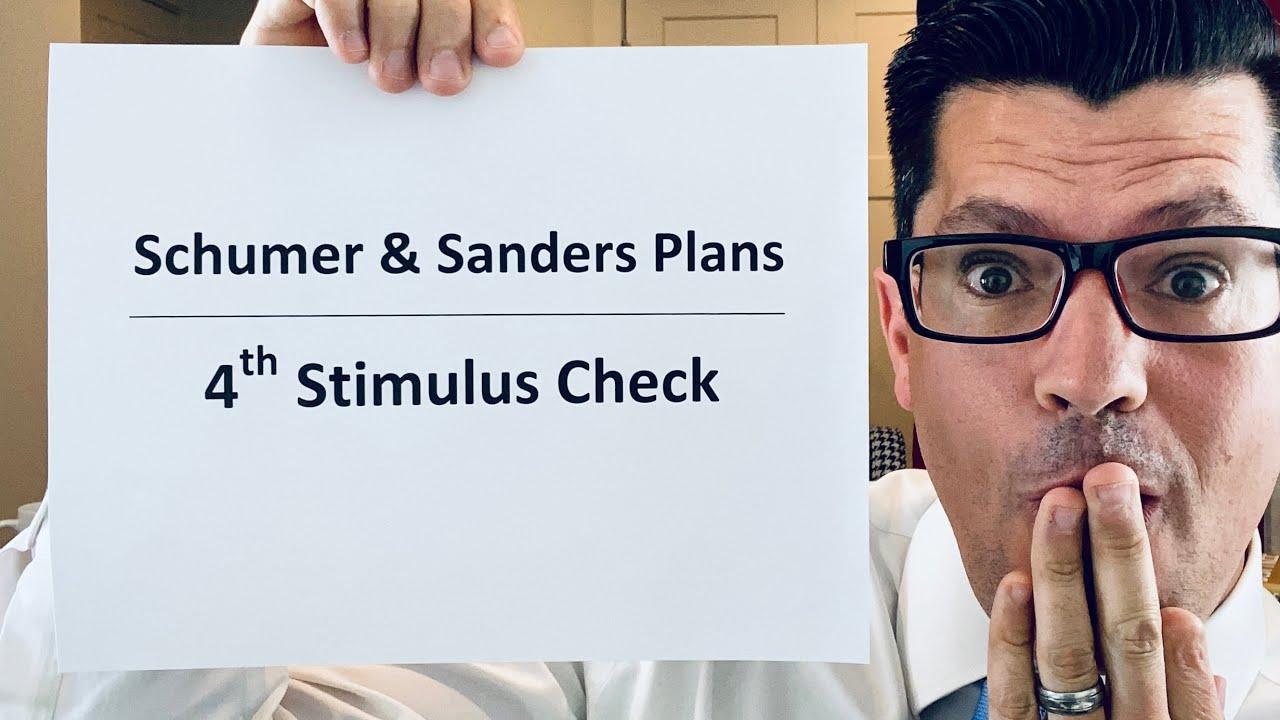 Schumer & Sanders NEW Plan | Fourth Stimulus Check Update | Senate Passes $250 Billion Bill