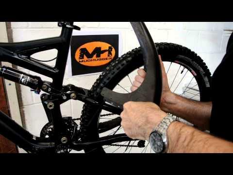 "Mudhugger MTB Front Race /& Rear Mudguard For Suspension Mountain Bike 29./"""