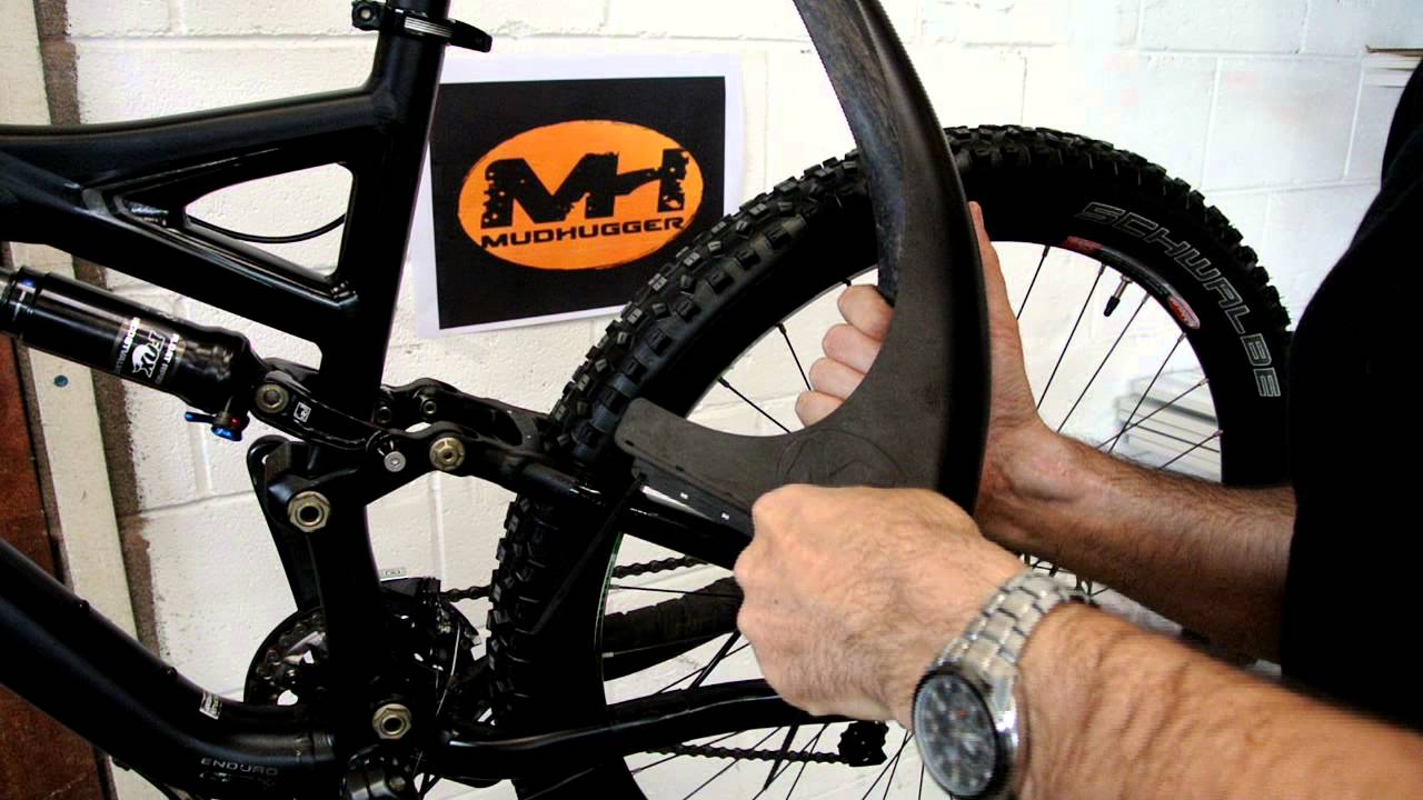 HOW TO FIT MUDHUGGER MUDGUARD - YouTube Race Bike Photos 2013