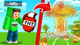 We Found GRENADES In MINECRAFT! (Insane)