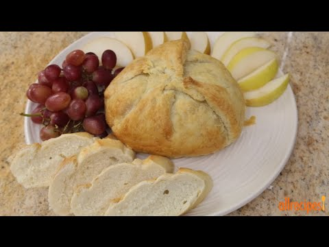 How To Make Baked Brie With Caramelized Onions | Appetizer Recipes | Allrecipes.com