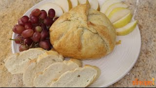 Appetizer Recipes - How to Make Baked Brie with Caramelized Onions
