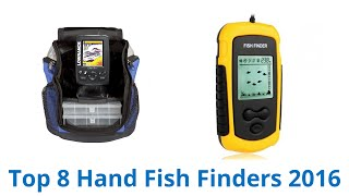 8 Best Hand Fish Finders 2016 - YouTube