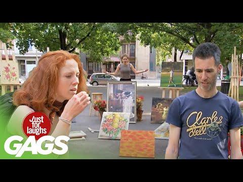 Best of Art Pranks Vol. 3 | Just for Laughs Compilation