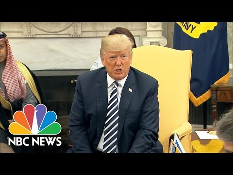 President Trump Confirms Call To Putin, Says They Will Meet 'In Not Too Distant Future'   NBC News