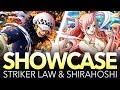 STRIKER LAW & SHIRAHOSHI SHOWCASE! (One Piece Treasure Cruise - Global)