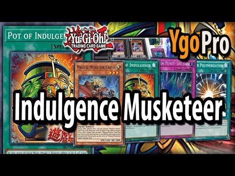 """Pot of Indulgence ft. Magical Musketeers (YgoPro) - """"+2 for FREE!"""""""