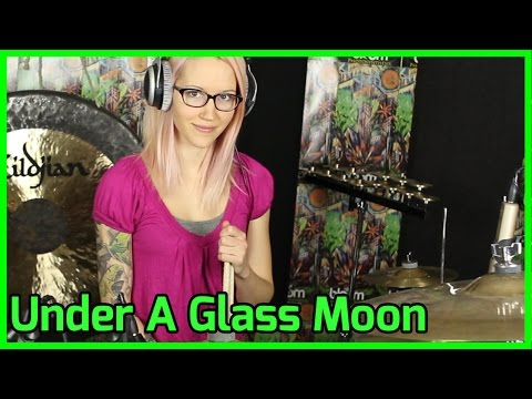 Under A Glass Moon Dream Theater Drum  Mari Voiles  of Under a Glass Moon  DT