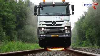 Prestations de meulage de rails / Grinding